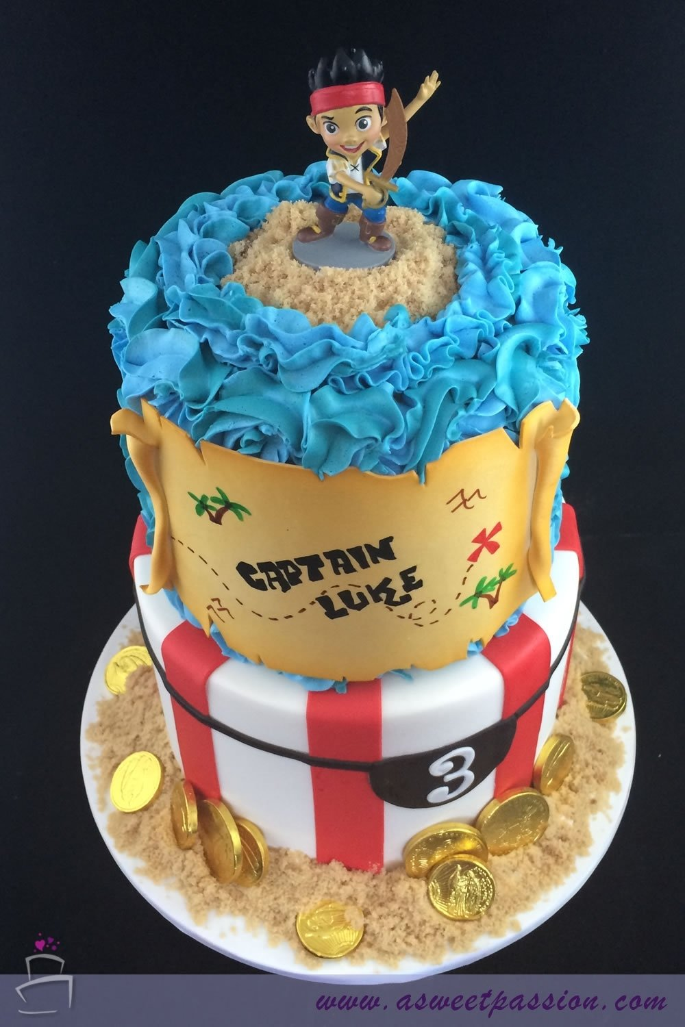 10 Nice Jake And The Neverland Pirate Cake Ideas today we celebrated lukes 3rd birthday with a jake and the 1 2020