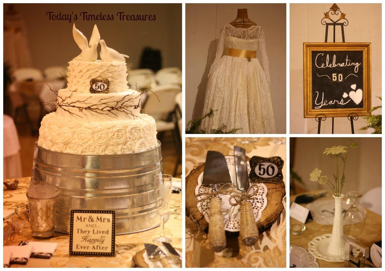 10 Attractive Ideas For 50Th Wedding Anniversary todays timeless treasures 50th wedding anniversary party 2020