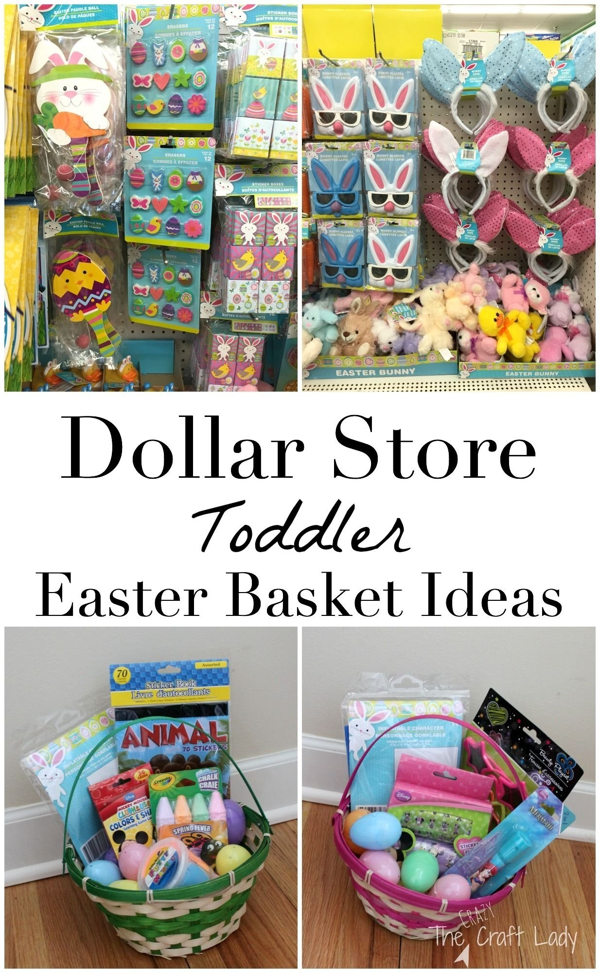 toddler-approved dollar store easter basket ideas | basket ideas