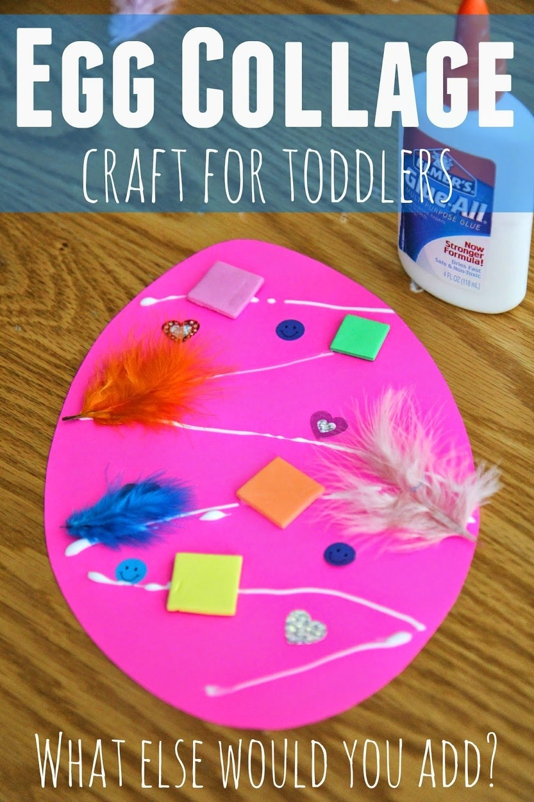 10 Stylish Easter Craft Ideas For Toddlers toddler approved easter egg collage craft for toddlers