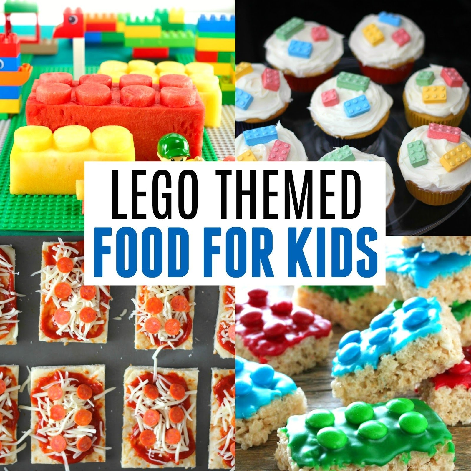 10 Nice Lego Birthday Party Food Ideas toddler approved easy lego brick themed food for kids 2020