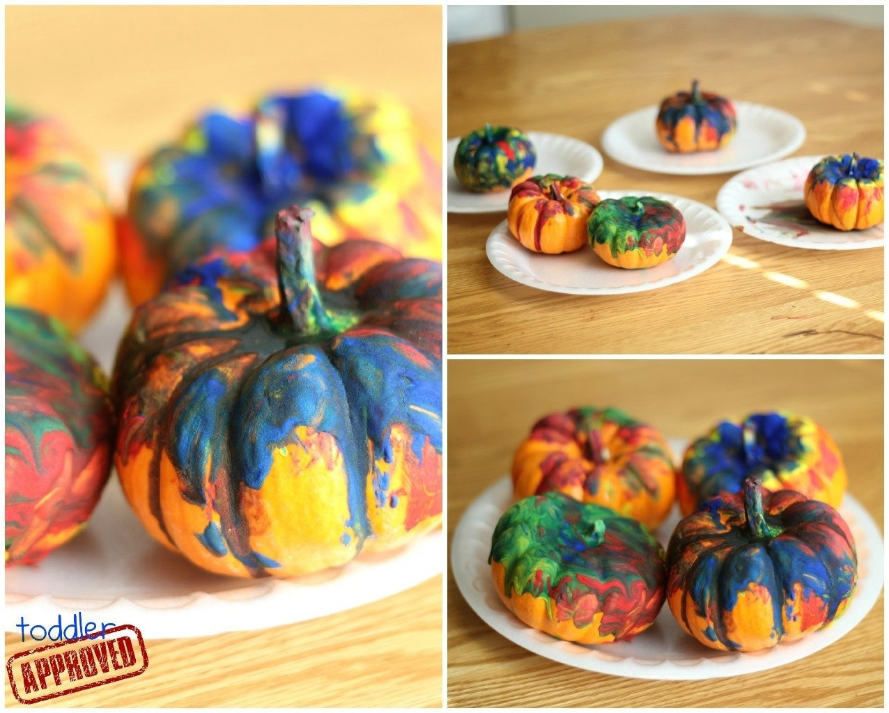 10 Elegant Pumpkin Painting Ideas For Kids toddler approved fizzle pumpkin painting 2020