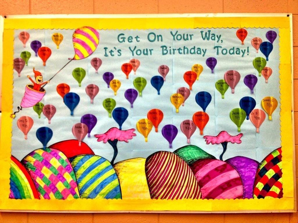 10 Wonderful Happy Birthday Bulletin Board Ideas toddler birthday bulletin board ideas teaching ideas pinterest 2020