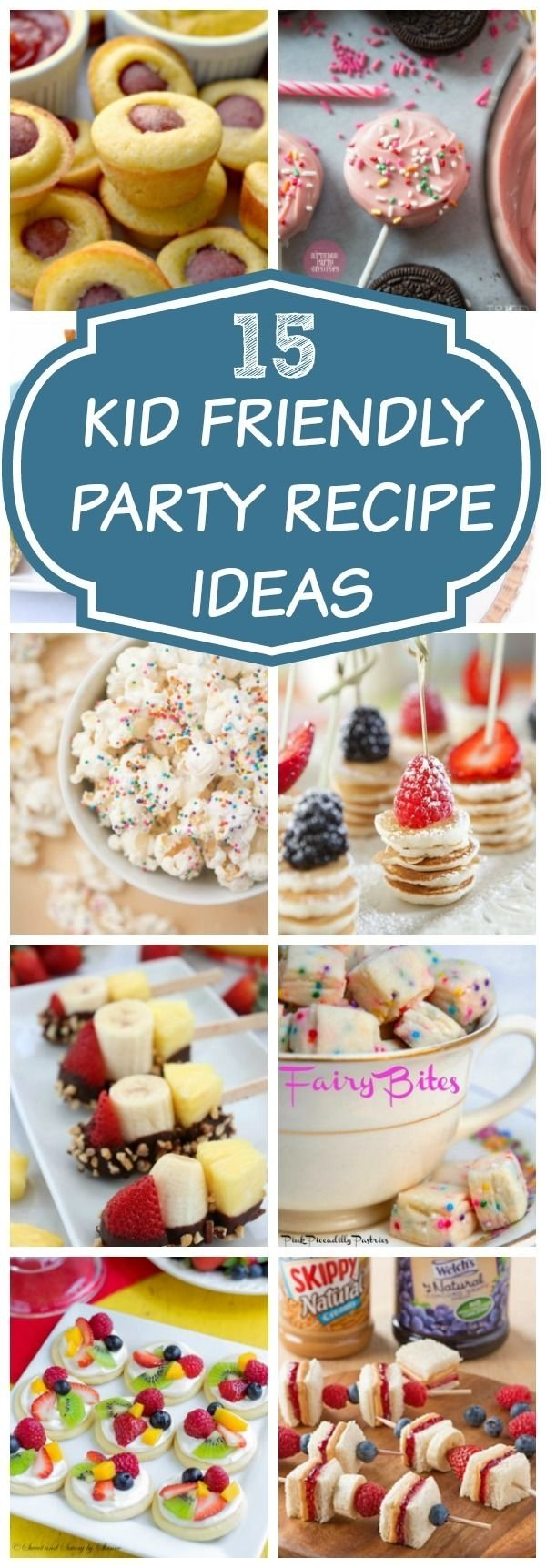 10 Perfect Food Ideas For Toddler Birthday Party