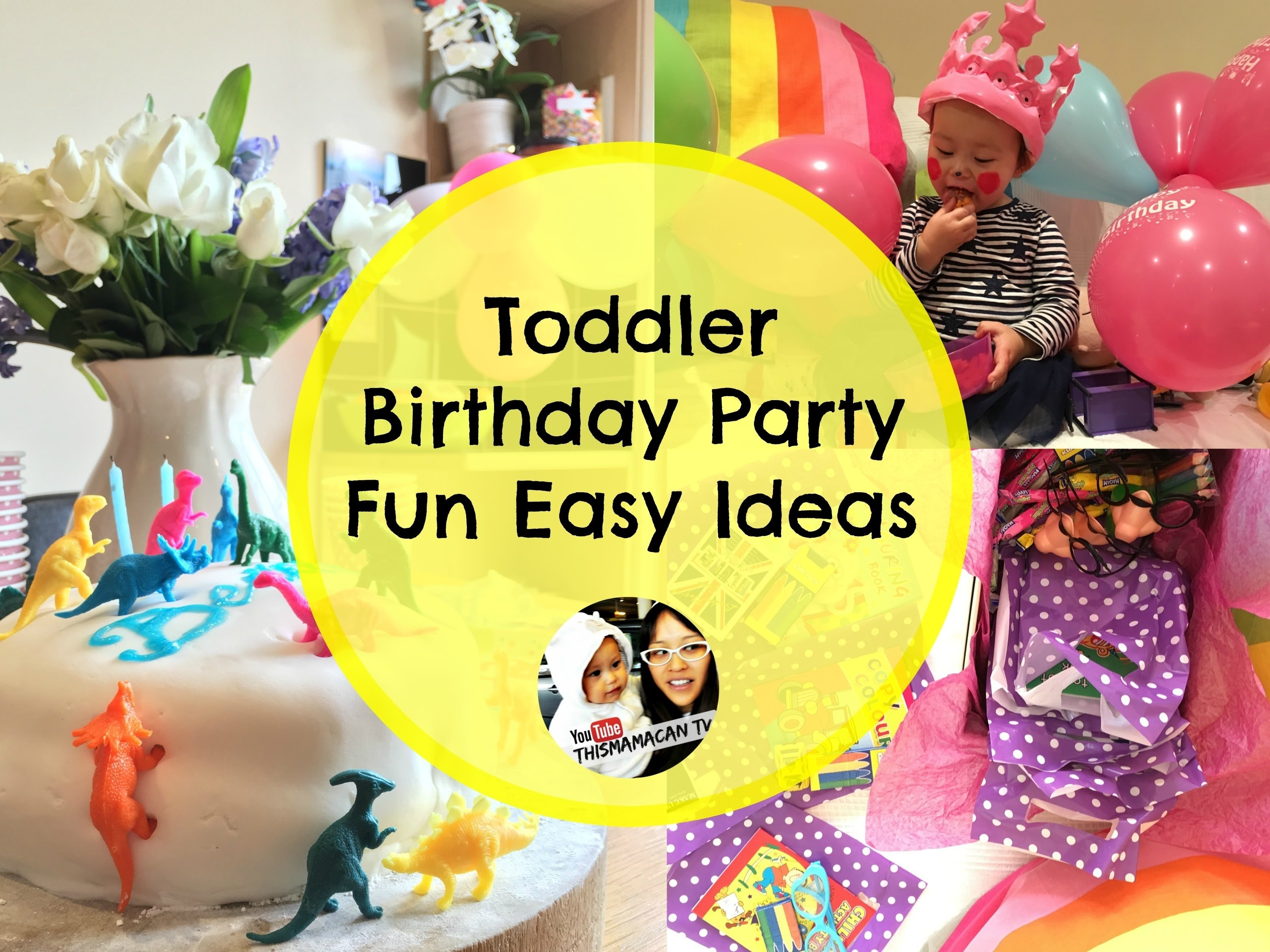 fun ideas for home birthday parties