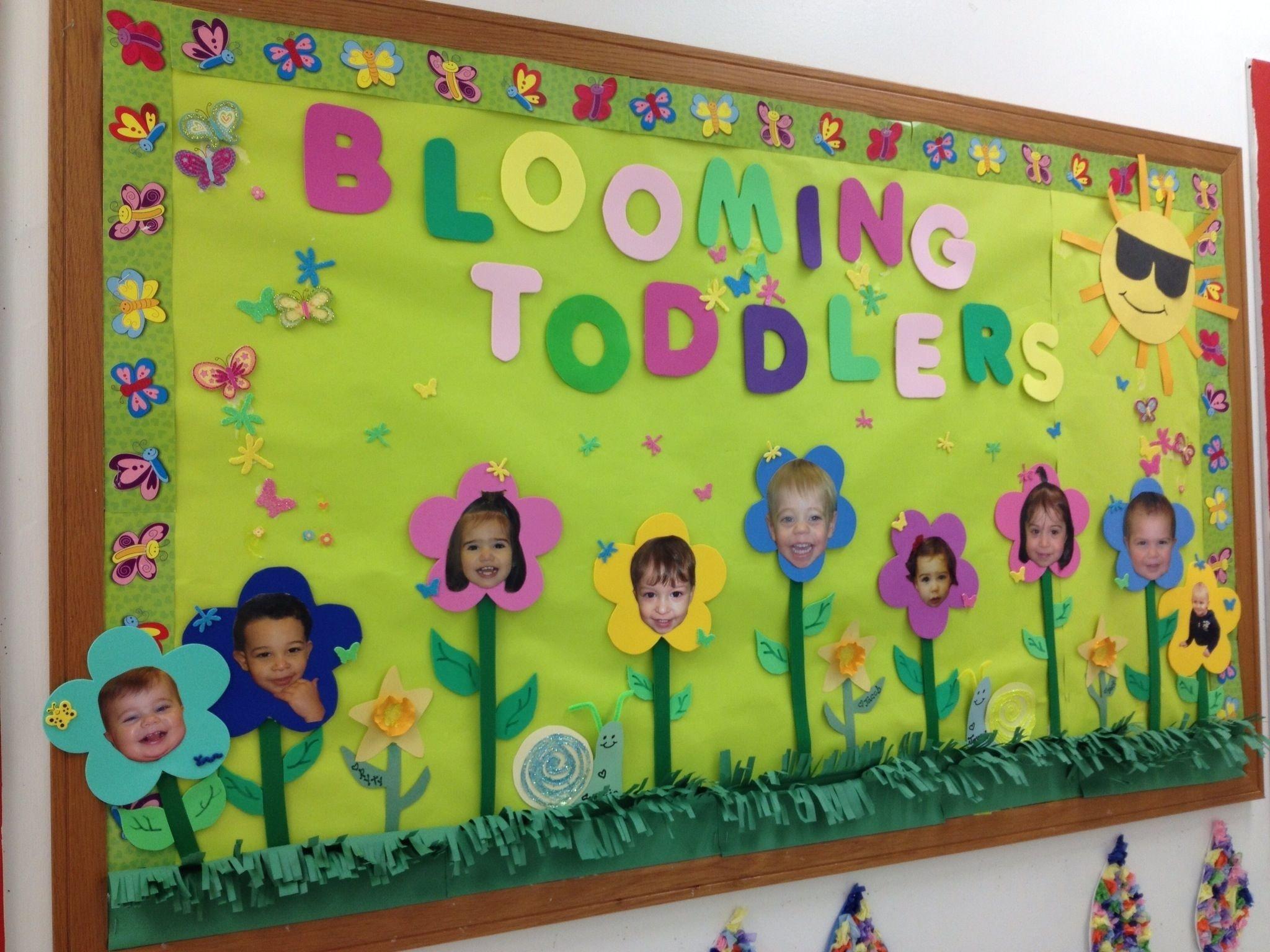 10 Lovable Preschool Spring Bulletin Board Ideas toddler bulletin board toddler room pinterest toddler bulletin 2020