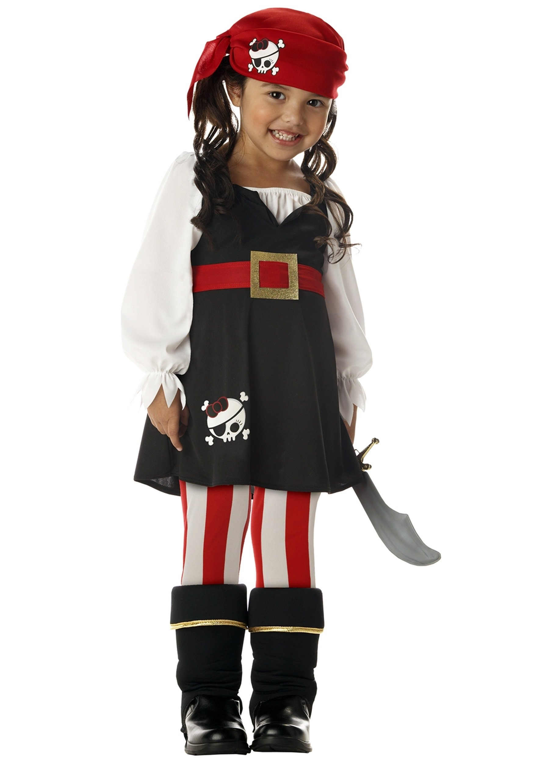 10 Attractive Homemade Pirate Costume Ideas For Kids toddler girls pirate costume