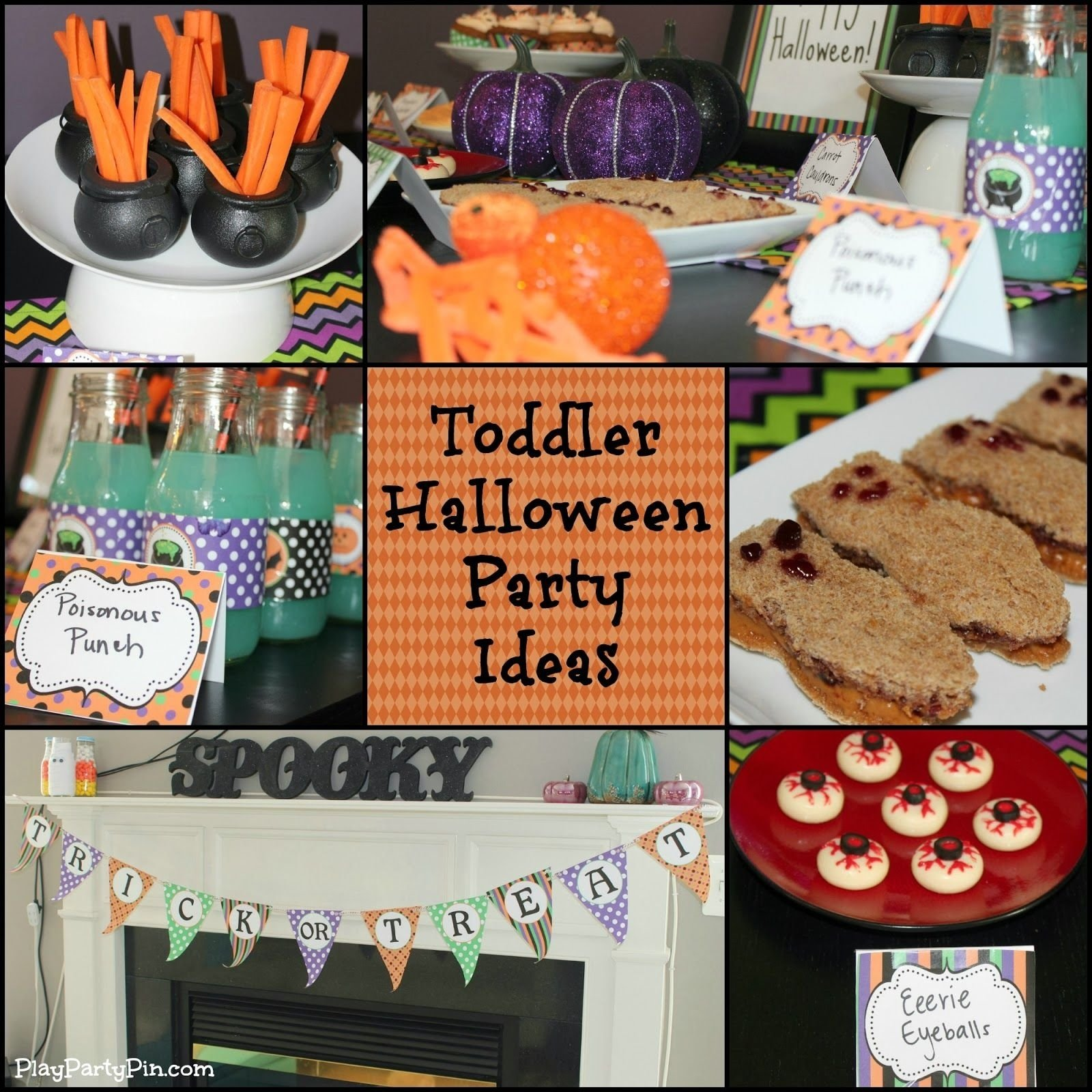 10 Gorgeous Halloween Party Ideas For Toddlers toddler halloween party ideasplaypartypin toddler 2020