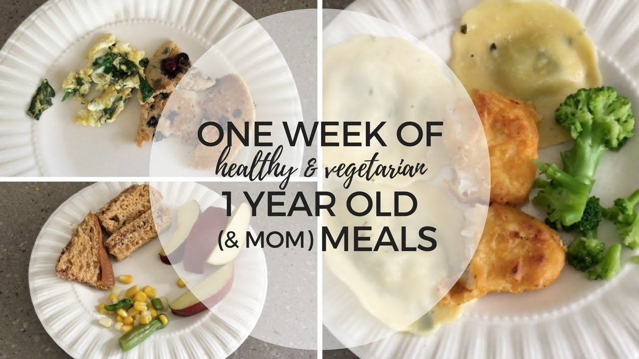 toddler meal ideas | one weeks worth of one year old (& mommy) meals