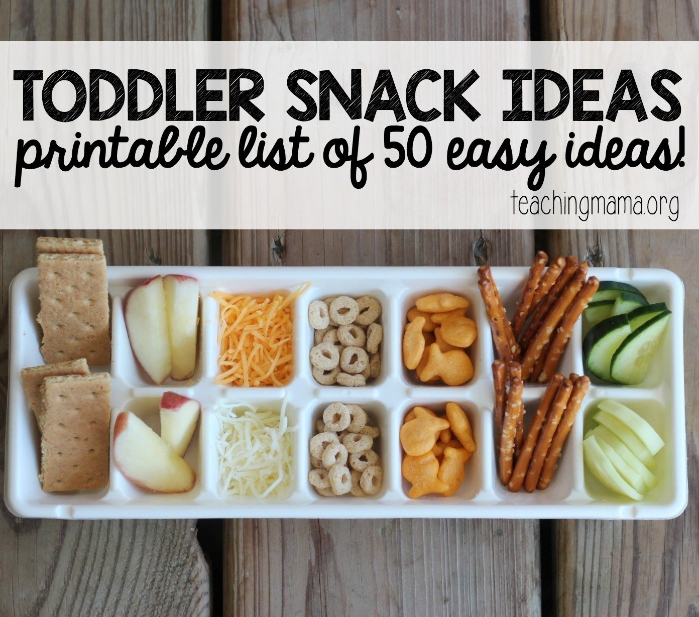 10 Famous Easy Snack Ideas For Kids Toddler 1