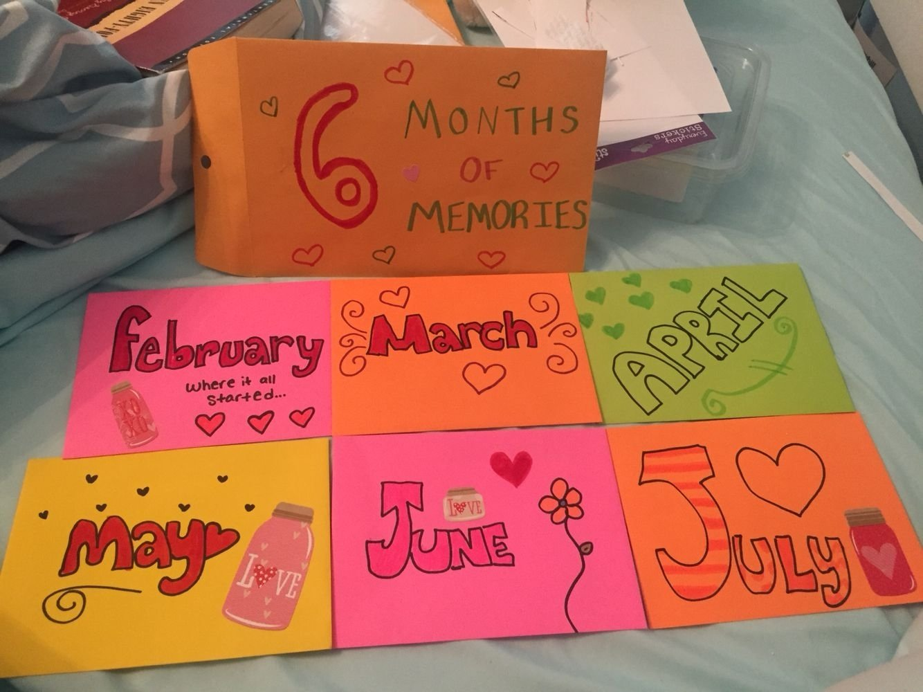 10 Unique 6 Month Anniversary Gift Ideas tomorrow will be my sixth month anniversary with my boyfriend i 2021
