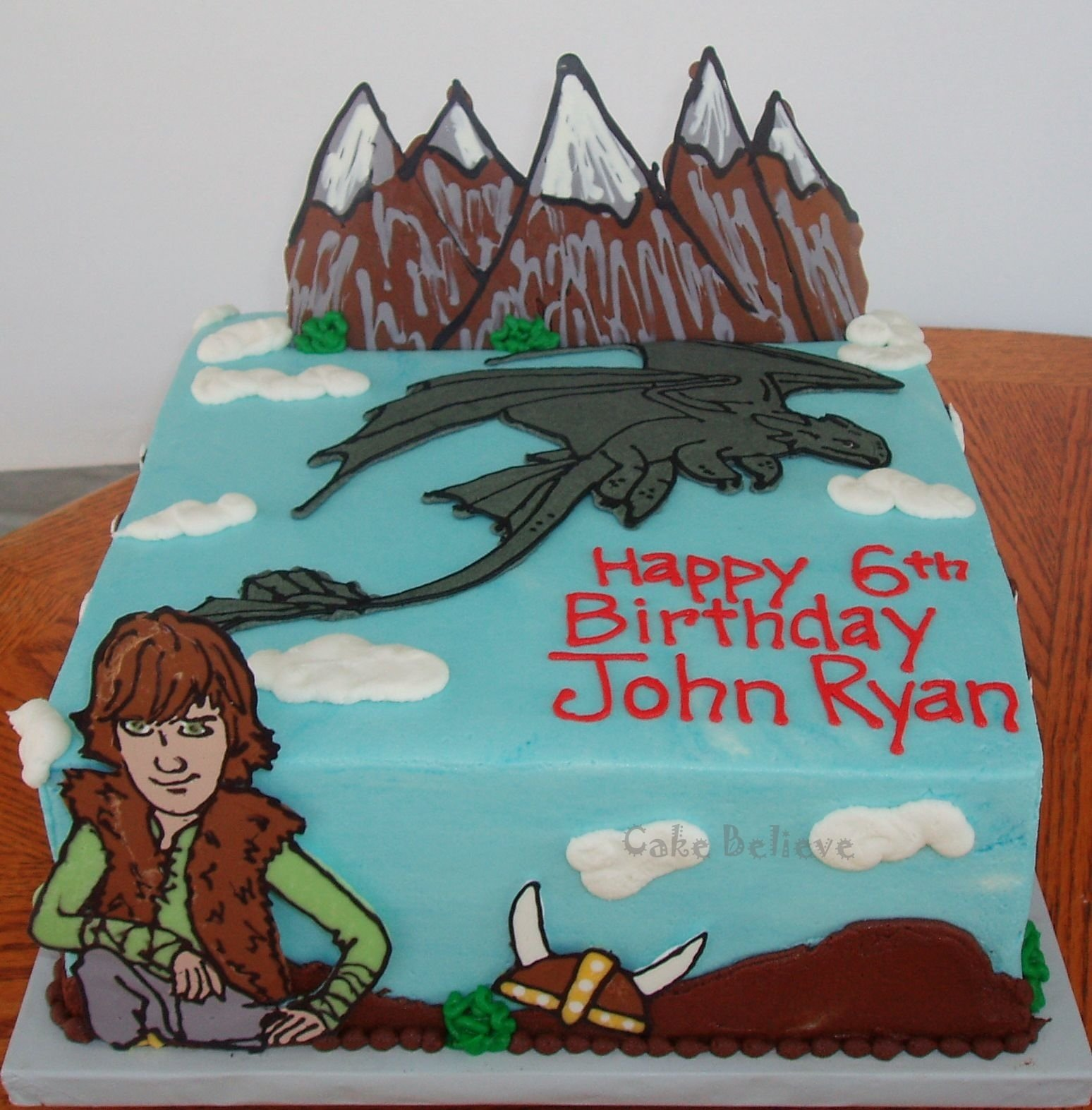 10 Most Recommended How To Train Your Dragon Cake Ideas toothless dragon simple cake google search food pinterest 2020