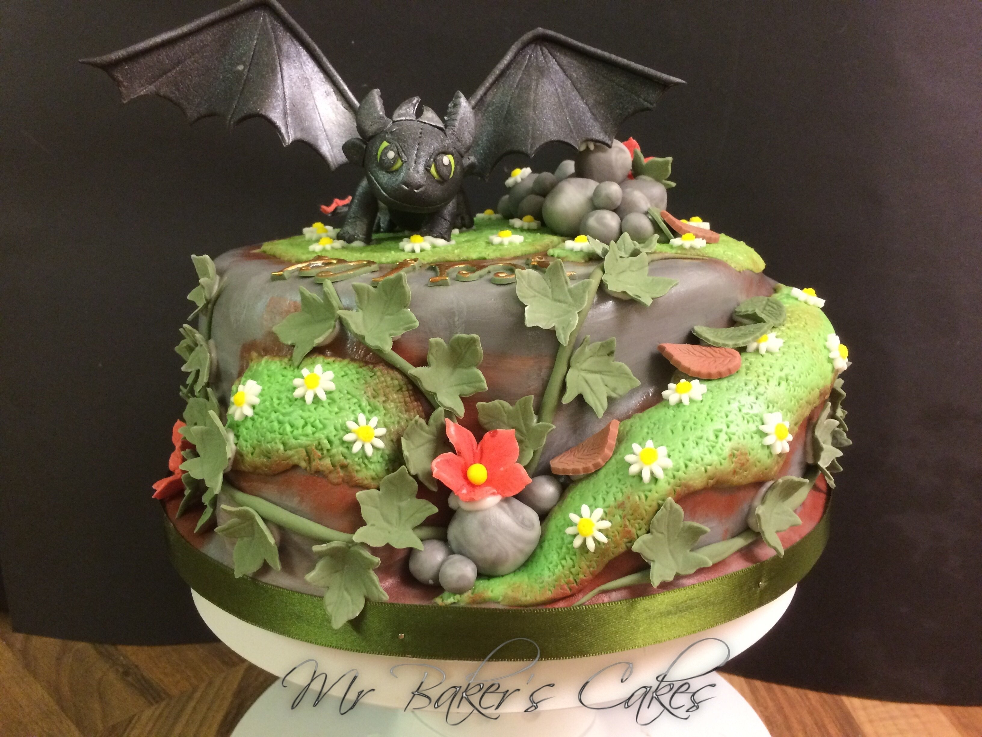 10 Most Recommended How To Train Your Dragon Cake Ideas toothless how to train your dragon cake cakecentral 2020