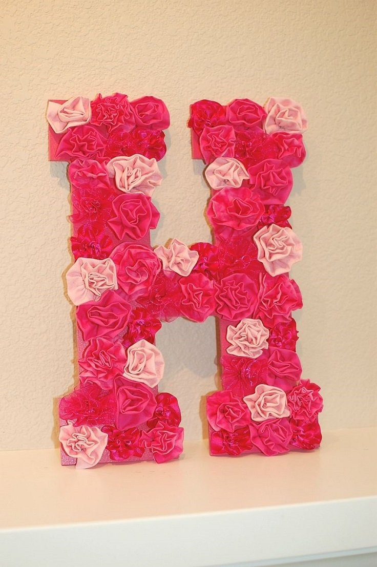 10 Fashionable Ideas For Decorating Wooden Letters top 10 best diy wall decor letter wall decor diy letters and 2020