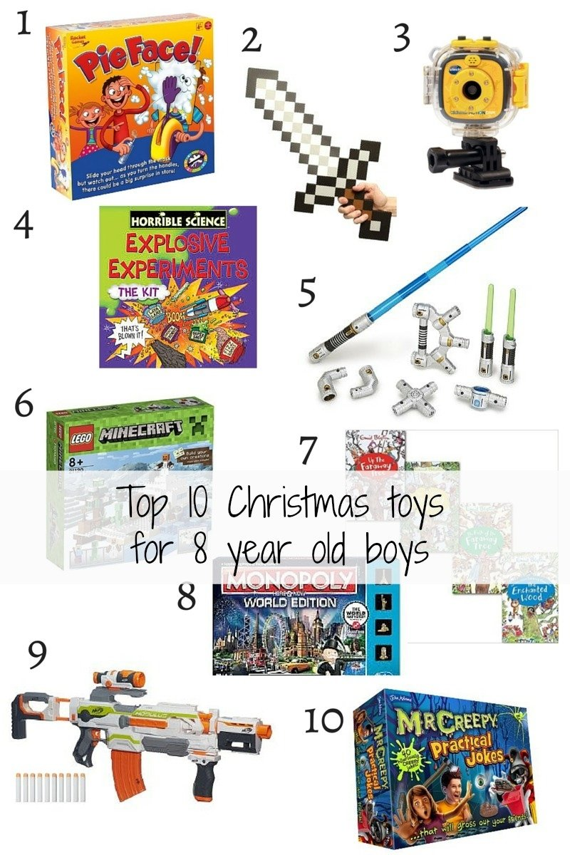 top 10 christmas toys for 8 year old boys - mummy and monkeys