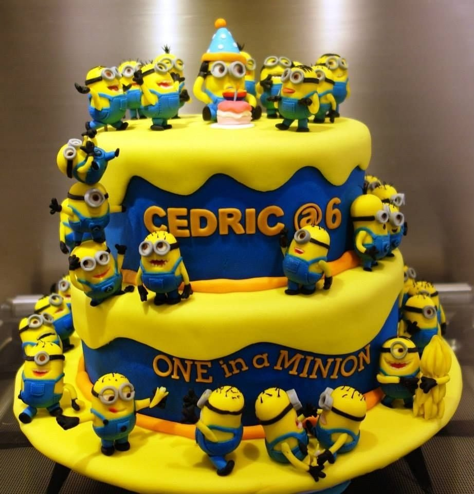 10 Trendy Despicable Me Birthday Cake Ideas top 10 crazy minions cake ideas minion cakes top ten and cake