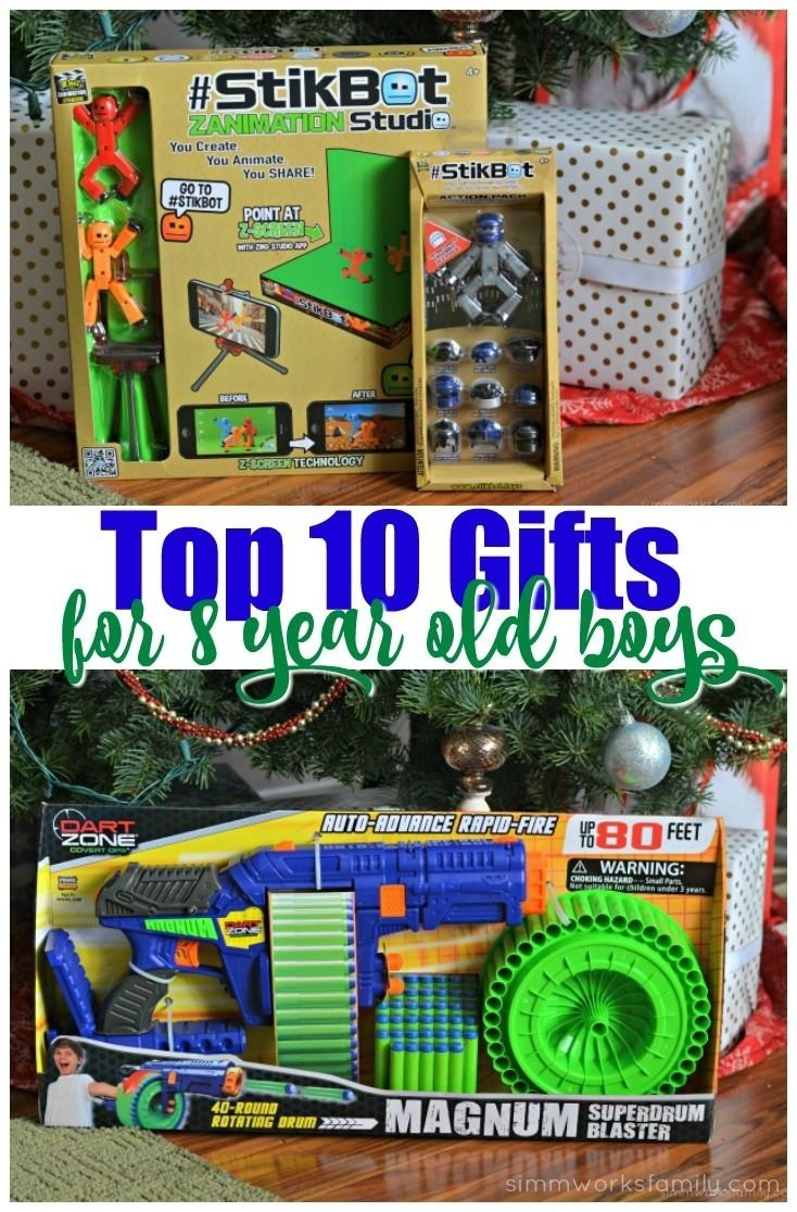 10 Great Christmas Gift Ideas For 8 Year Old Boy