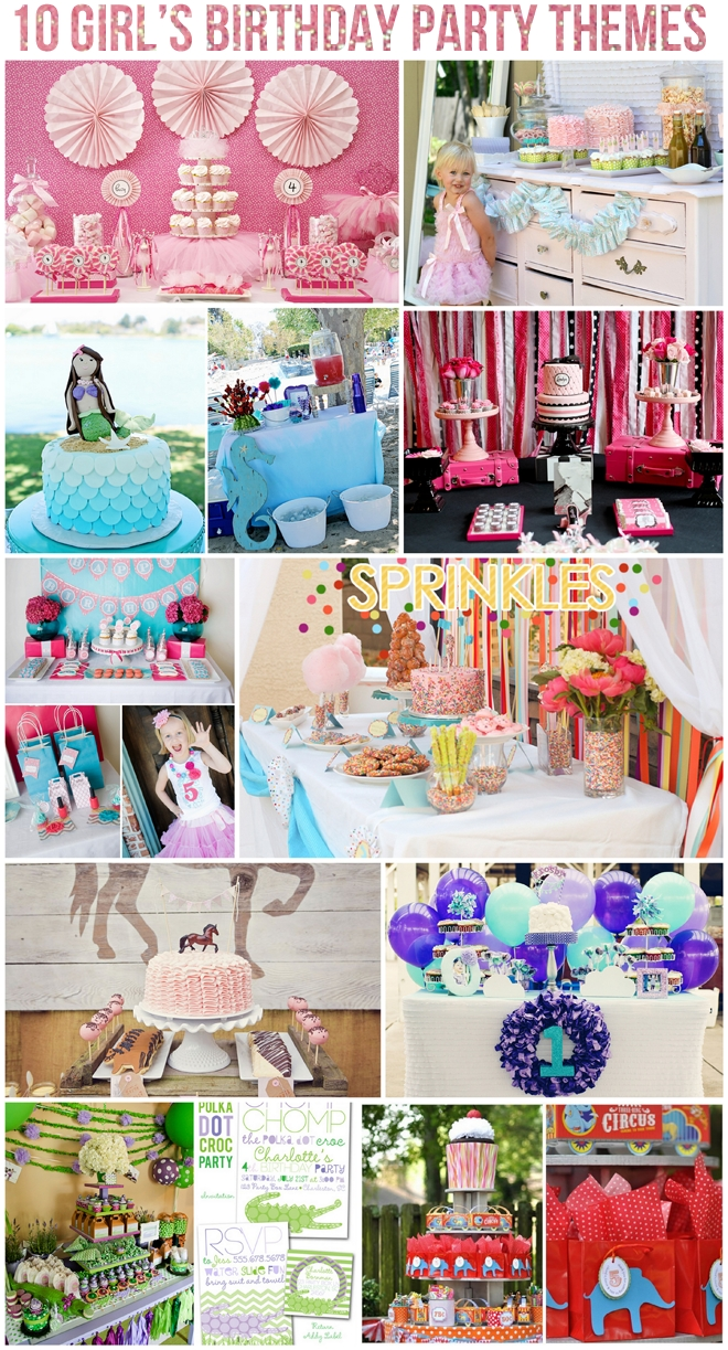 10 Unique Birthday Party Ideas For 10 Year Girl top 10 girls birthday party themes birthday party themes 2020