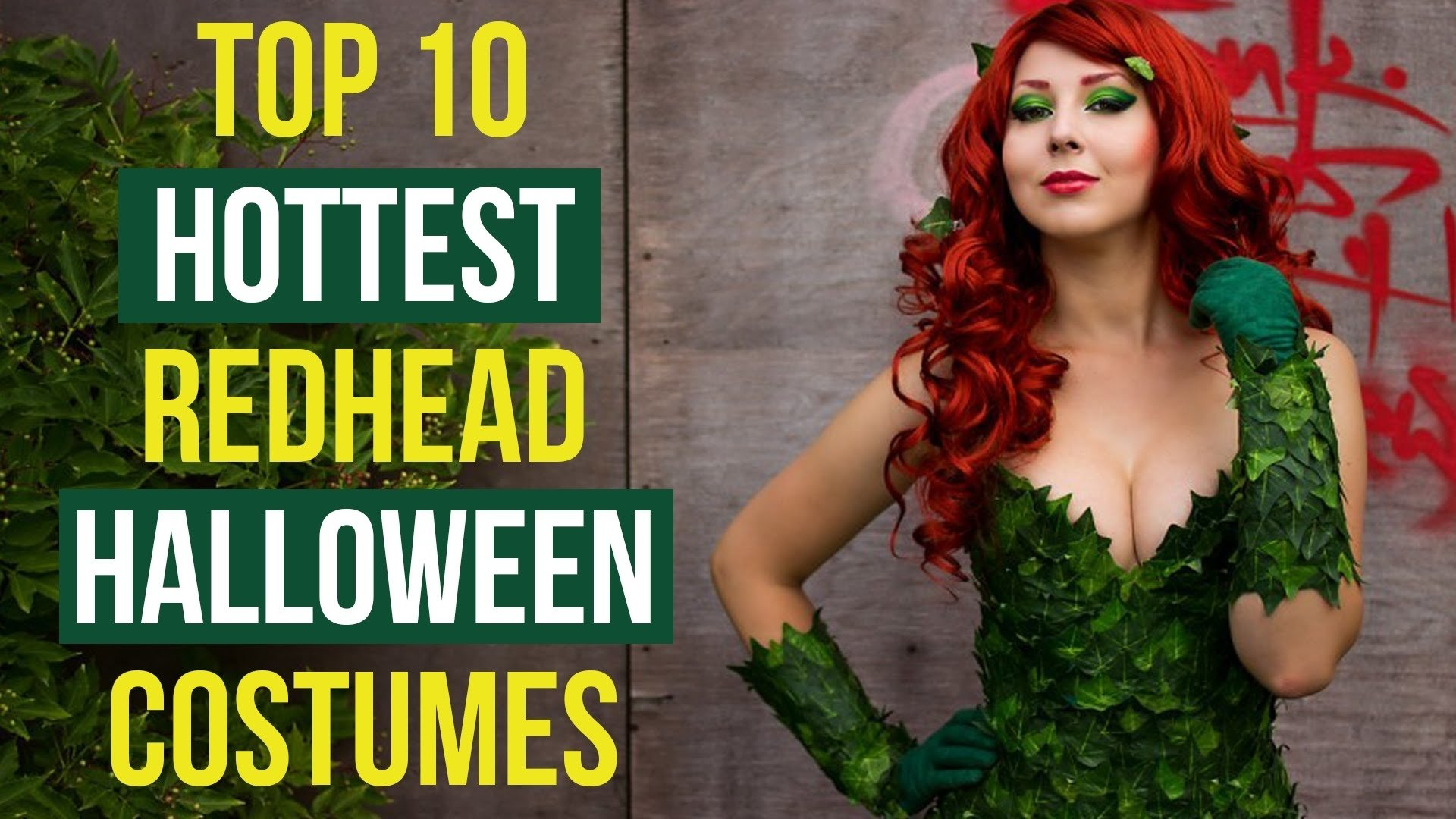 top 10 hottest redhead halloween costumes - youtube