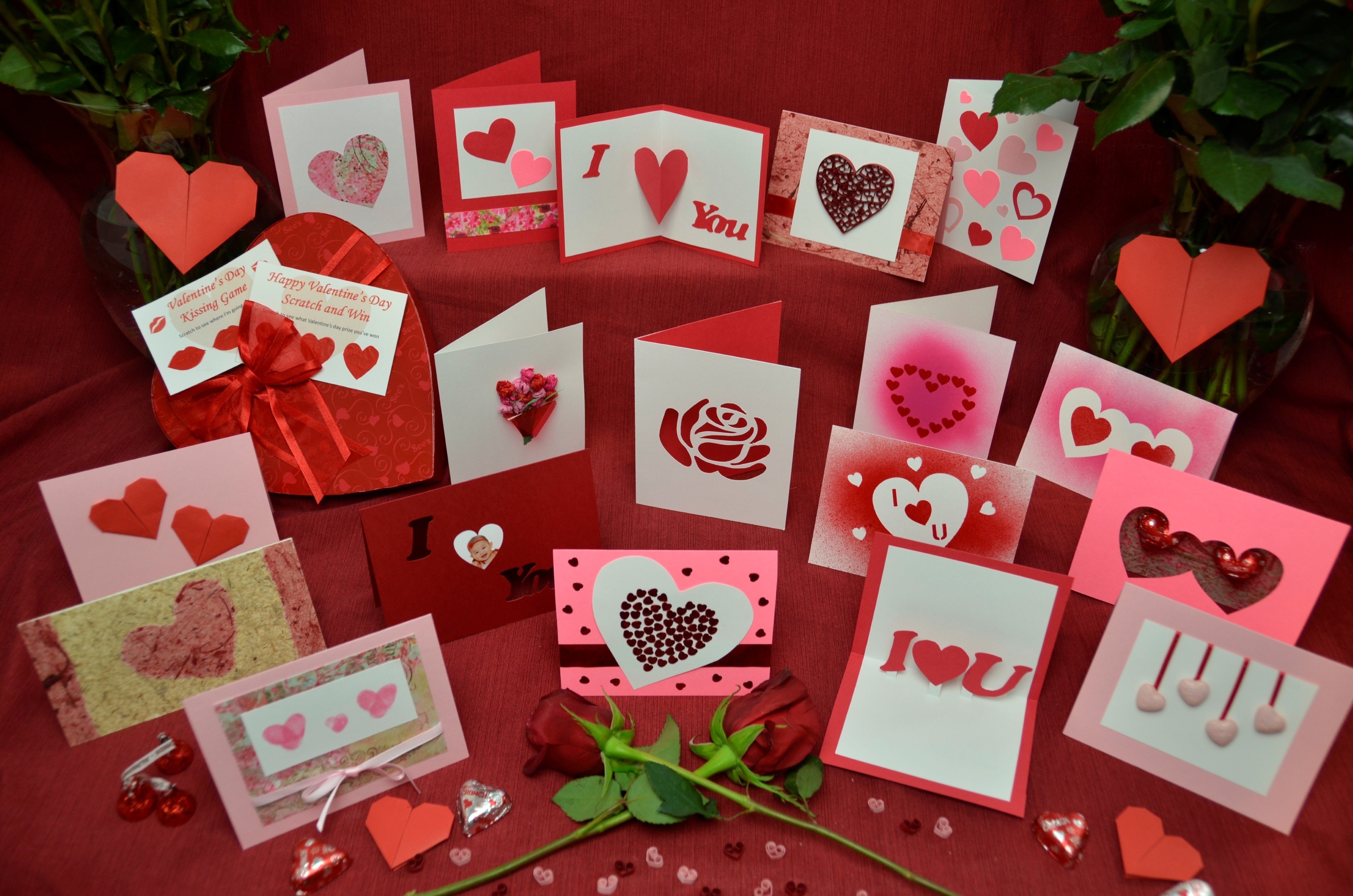 10 Attractive Creative Valentines Day Ideas For Girlfriend top 10 ideas for valentines day cards creative pop up cards 4 2020