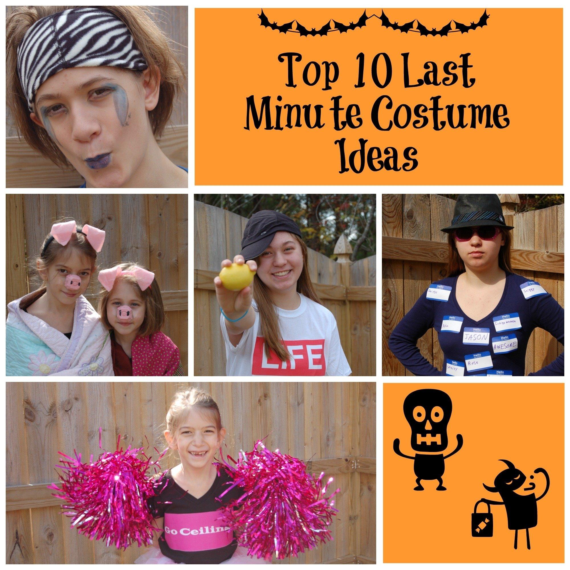 10 Attractive Last Minute Easy Costume Ideas top 10 last minute costume ideas almost supermom 1 2020
