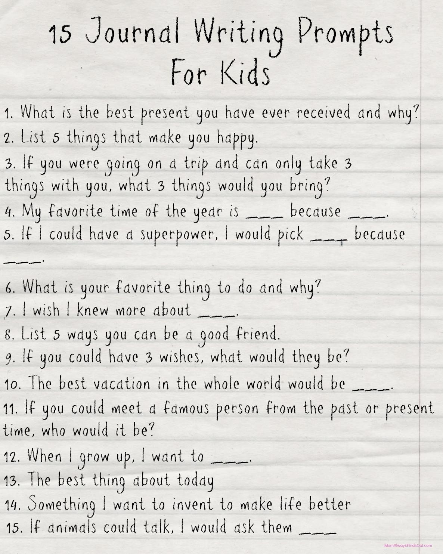 10 Stylish Creative Writing Ideas For Kids