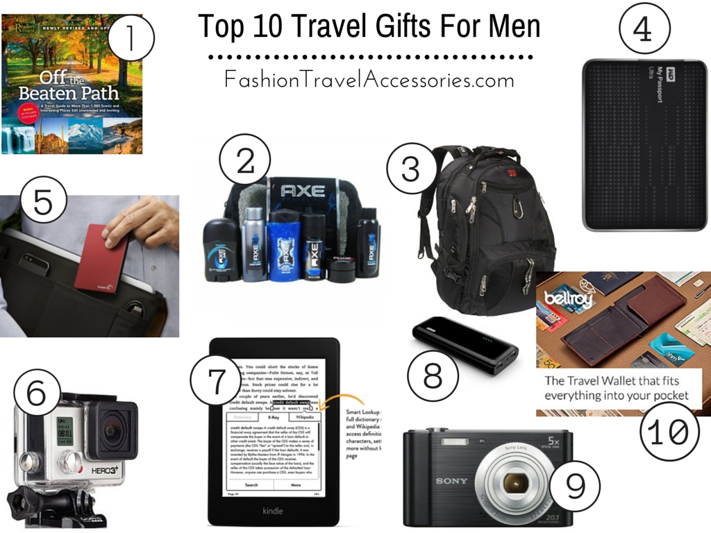 top 10 travel gifts for men reviews - fashion travel