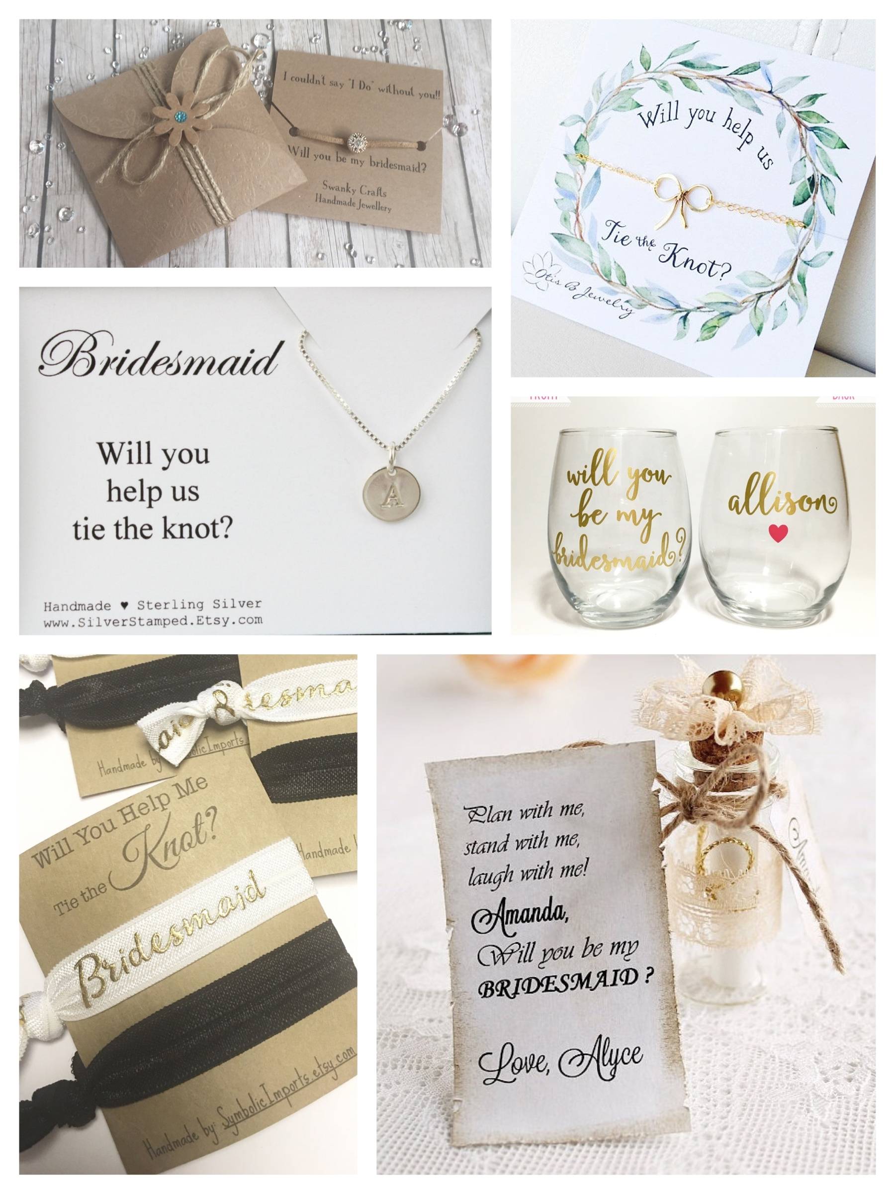10 Cute How To Ask Bridesmaids Ideas %name 2020