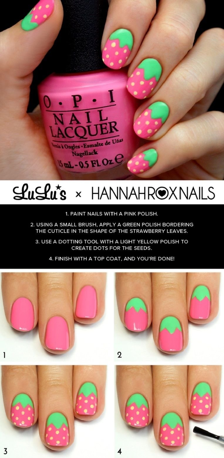 10 Unique Nail Art Ideas Step By Step top 101 most creative spring nail art tutorials and designs art 2021