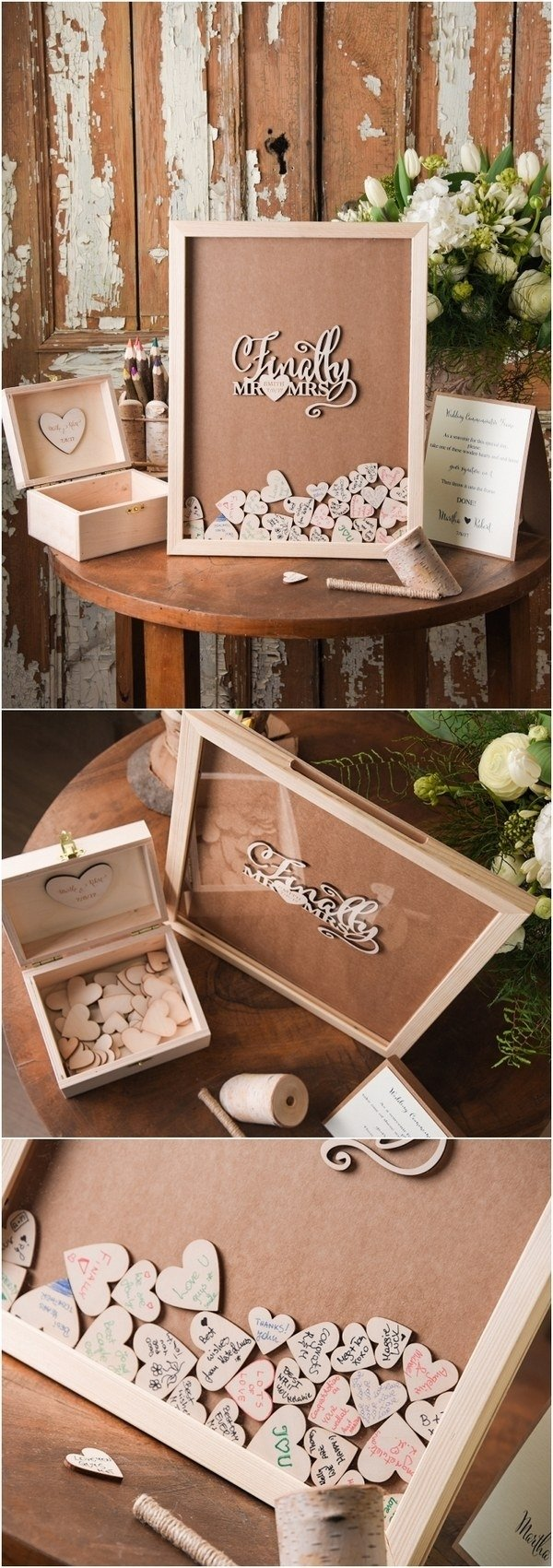 10 Cute Rustic Wedding Guest Book Ideas top 12 rustic wedding guest books botanical wedding invitations 4 1 2020