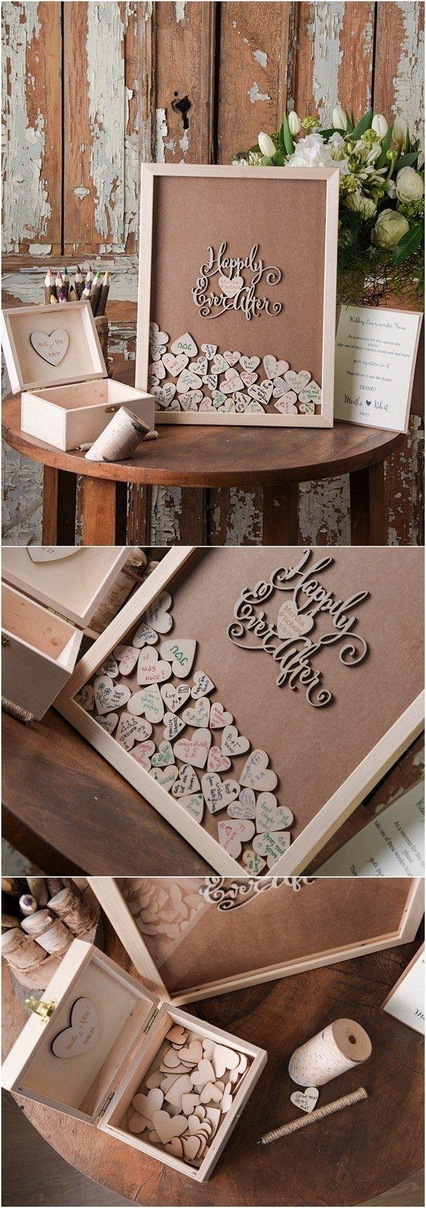10 Cute Rustic Wedding Guest Book Ideas top 12 rustic wedding guest books botanical wedding invitations 4 2020