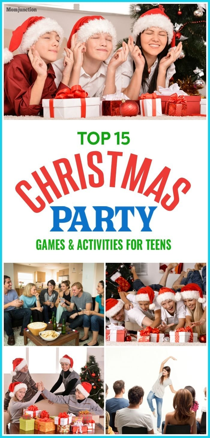 10 Lovely Christmas Party Ideas For Teenagers top 15 christmas games and activities for teens fun christmas 2020