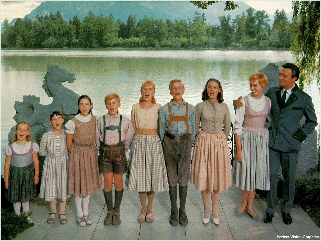 top 15 iconic costumes from the sound of music (1965) | frock flicks