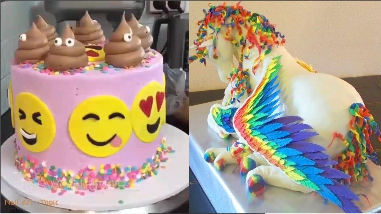 10 Gorgeous Birthday Cake Decorating Ideas For Adults top 20 amazing birthday cake decorating ideas oddly satisfying 2020