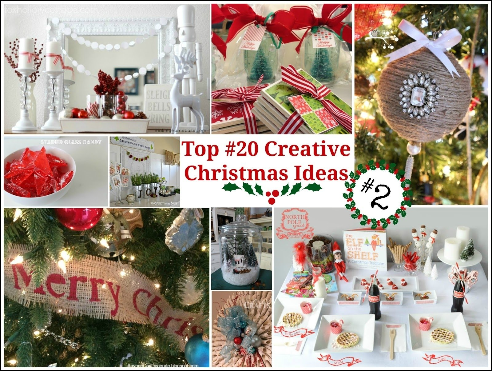10 Unique Christmas Gift Ideas On Pinterest top 20 creative christmas ideas ii fox hollow cottage 4 2020
