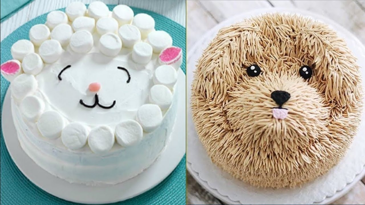 top 20 easy birthday cake decorating ideas - oddly satisfying cake