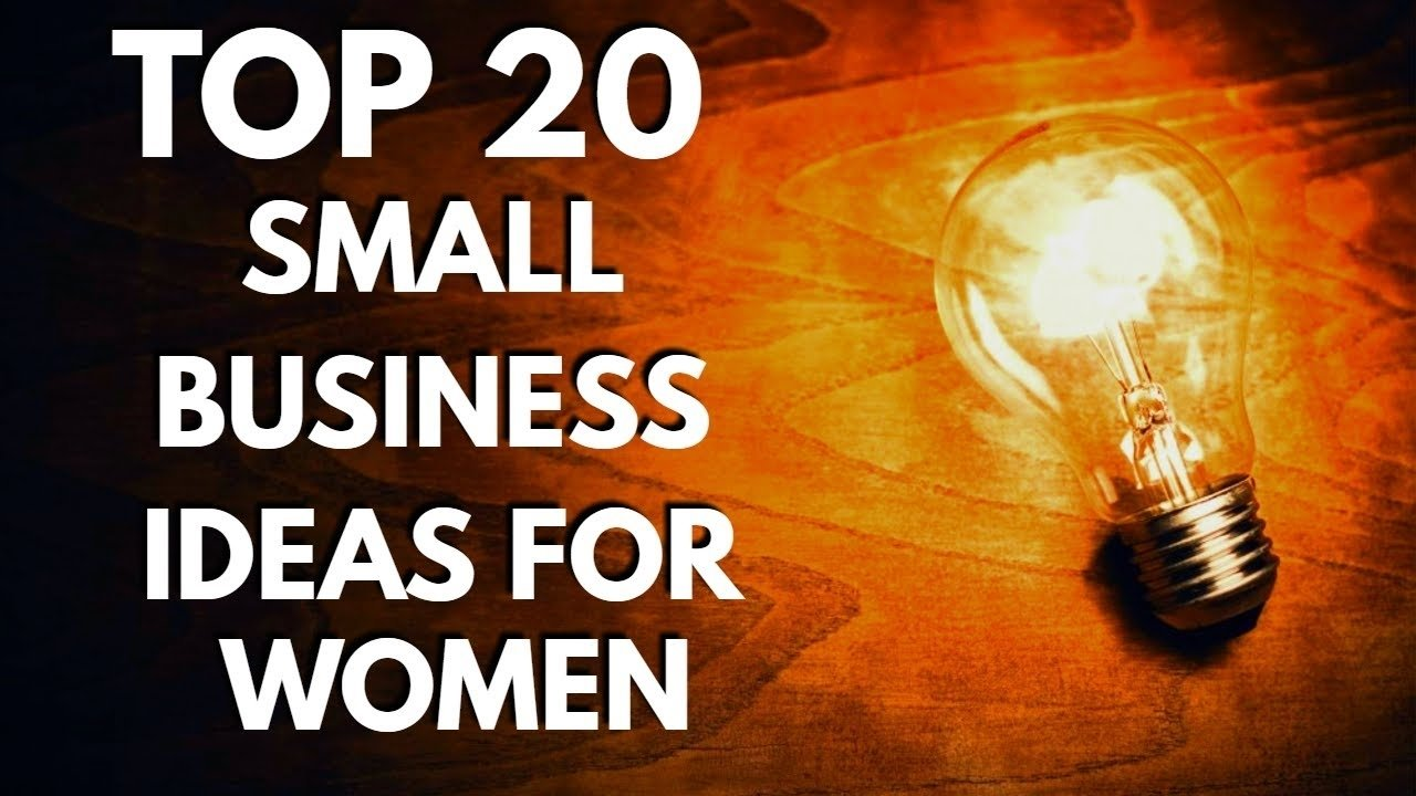 top 20 easy small business ideas for women in india - youtube