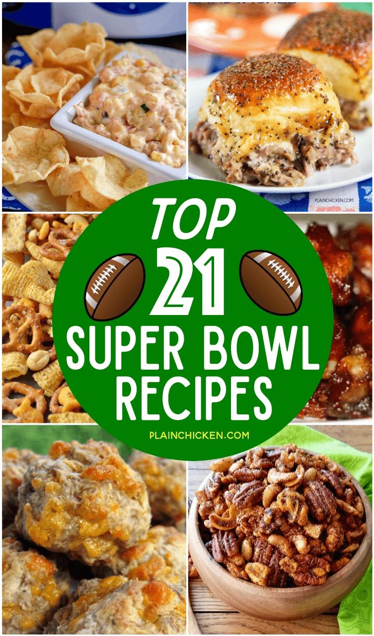 10 Stunning Super Bowl Party Menu Ideas top 21 super bowl recipes plain chicken 2021
