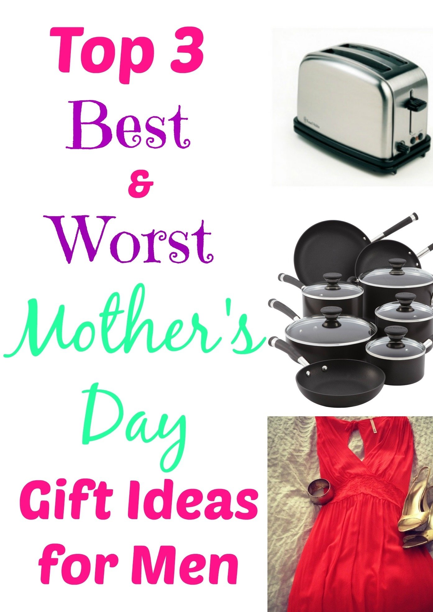 top 3 best & worst mother's day gift ideas for men