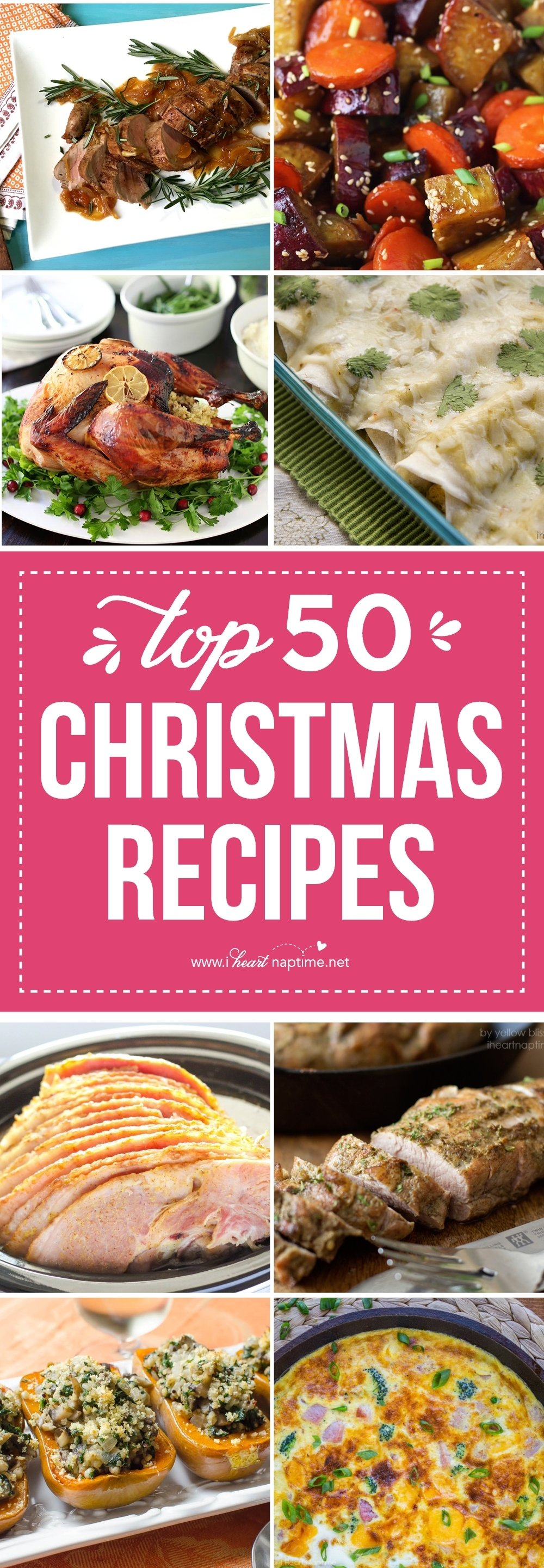 10 Amazing Christmas Dinner Side Dish Ideas top 50 christmas dinner recipes i heart nap time 1 2020