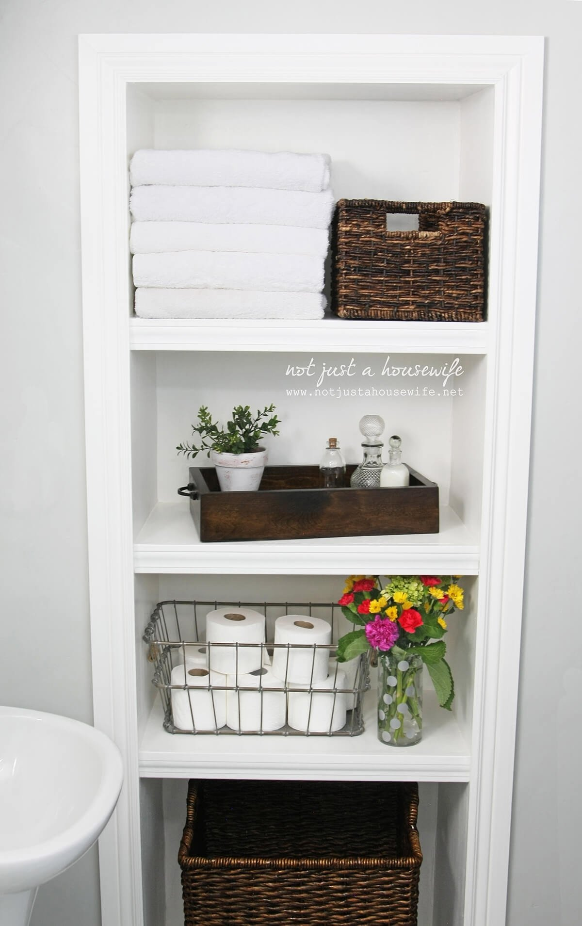 10 Stunning Storage Ideas For Small Bathrooms