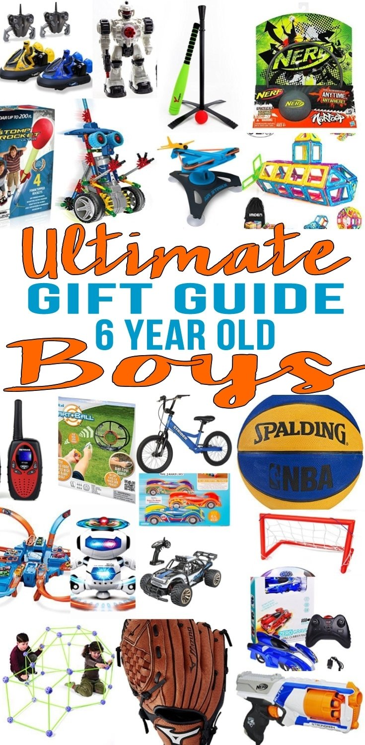 10 Most Popular 6 Year Old Boy Birthday Gift Ideas