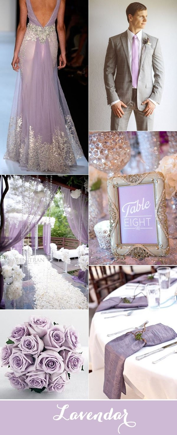 10 Fabulous Purple And Silver Wedding Ideas