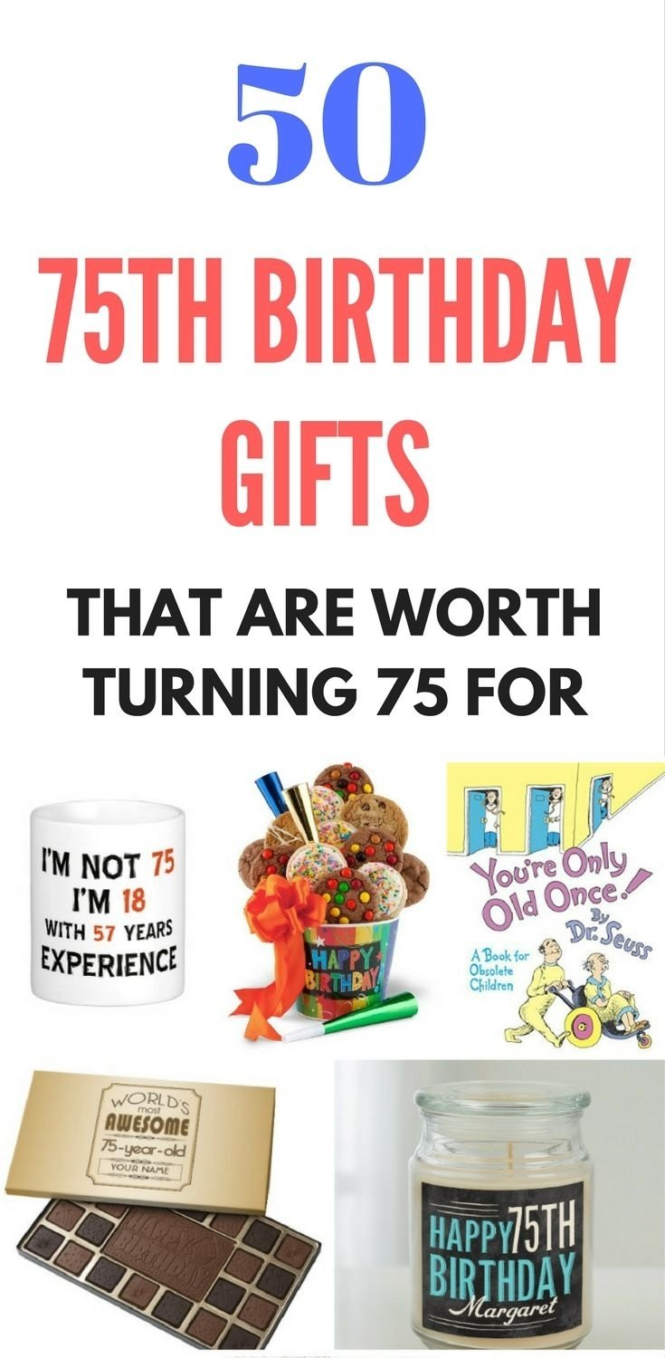 10 Stunning 75Th Birthday Ideas For Mom top 75th birthday gifts 50 sure to please gift ideas birthday 2020