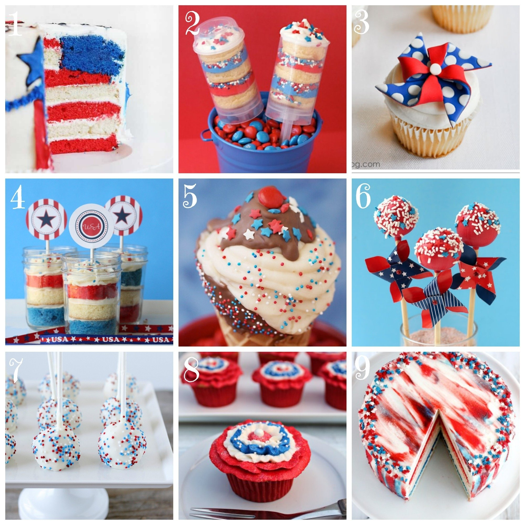 top 9 4th of july cake and cupcake recipe ideas