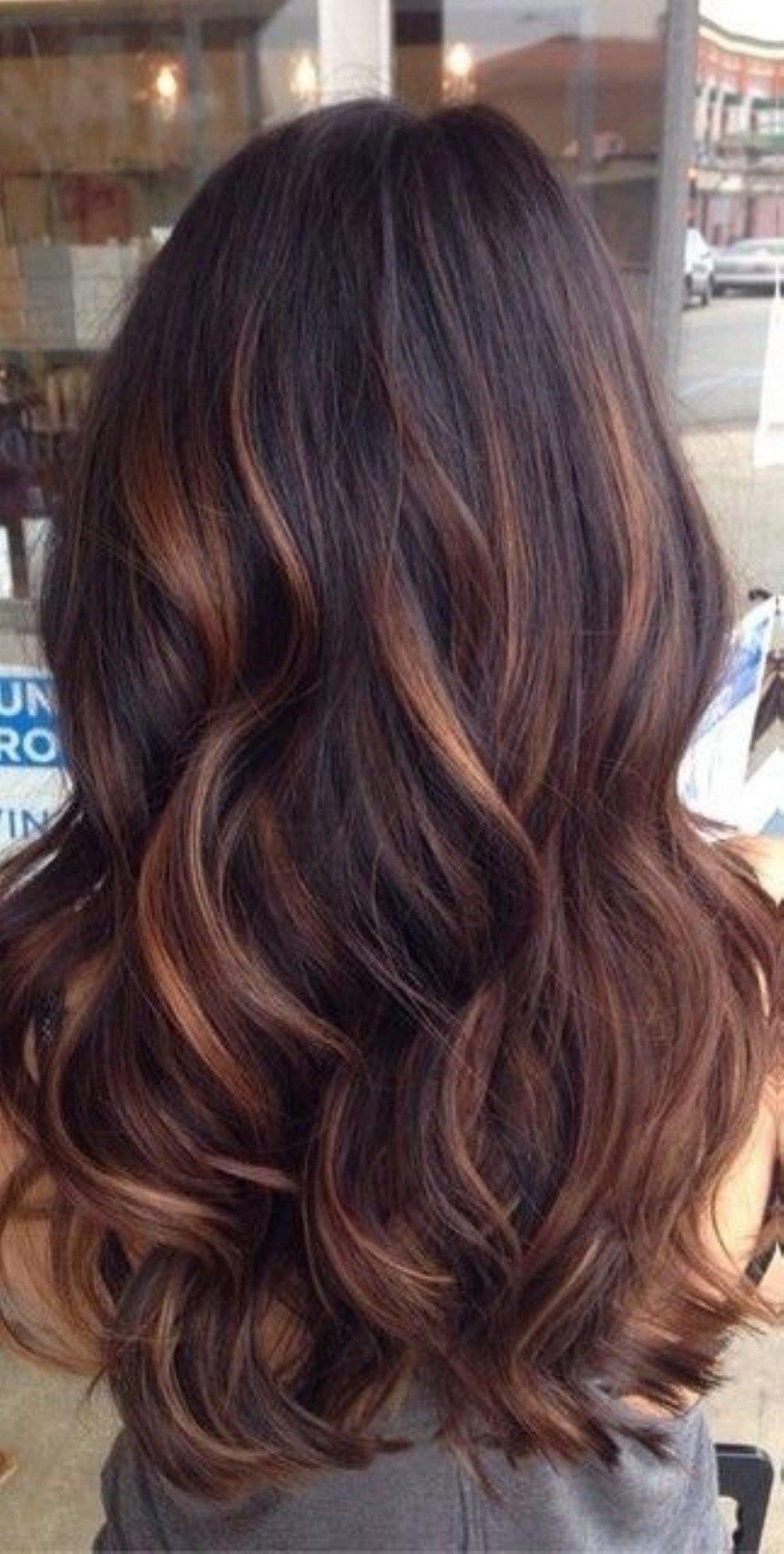 10 Stylish Hair Color Ideas Long Hair top brunette hair color ideas to try 2017 10 hair pinterest 4 2020