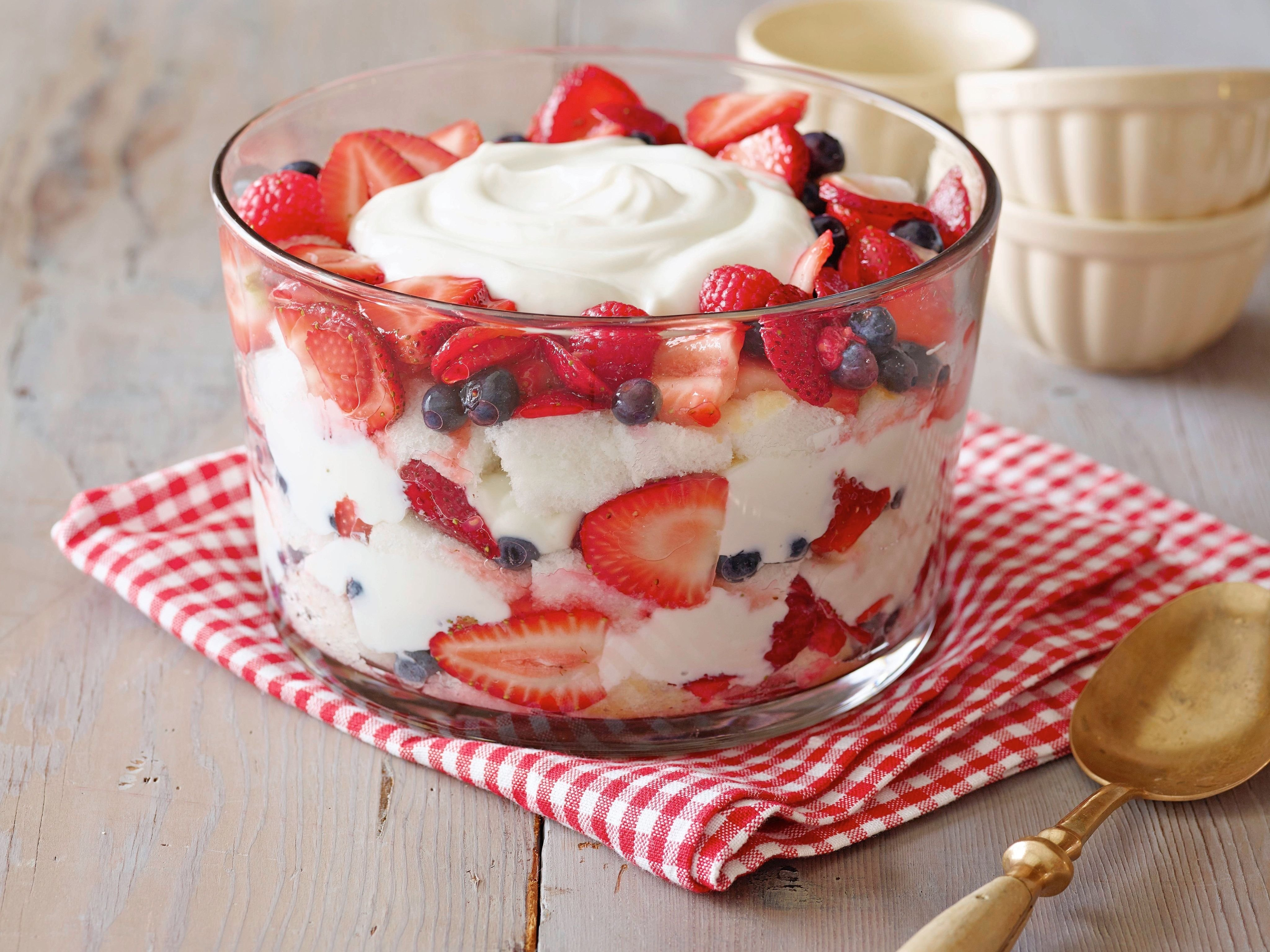 10 Attractive Angel Food Cake Topping Ideas top cookout desserts recipes and ideas food network berry trifle 1 2020