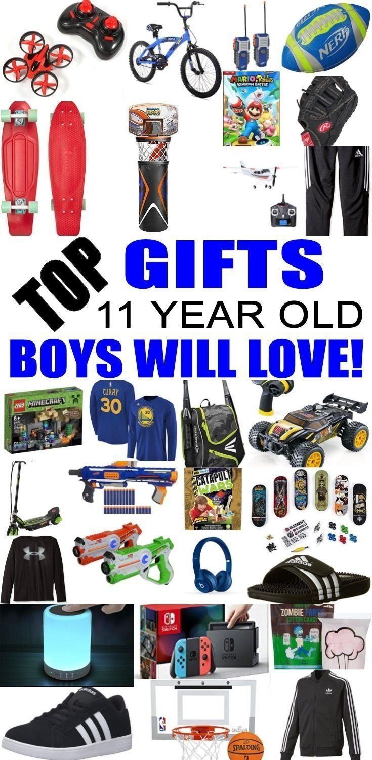 top gifts for 11 year old boys! best gift suggestions & presents for