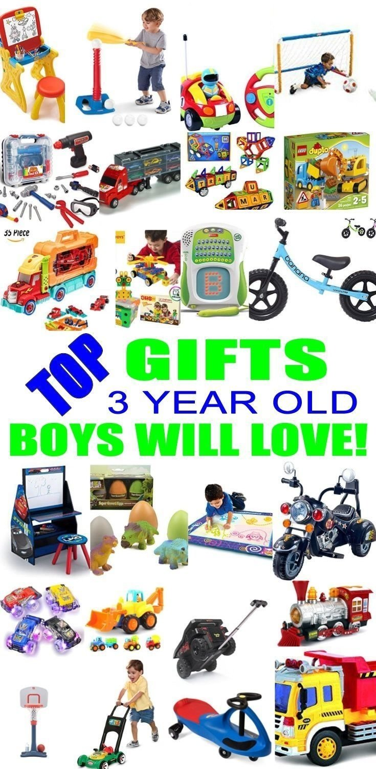 10 Beautiful 3 Year Old Boy Gift Ideas top gifts for 3 year old boys best gift suggestions presents for 2020
