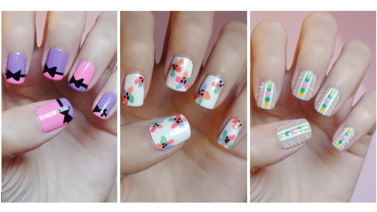 10 Unique Nail Art Ideas Step By Step top nail art designs 2015 nail art 2015 2021